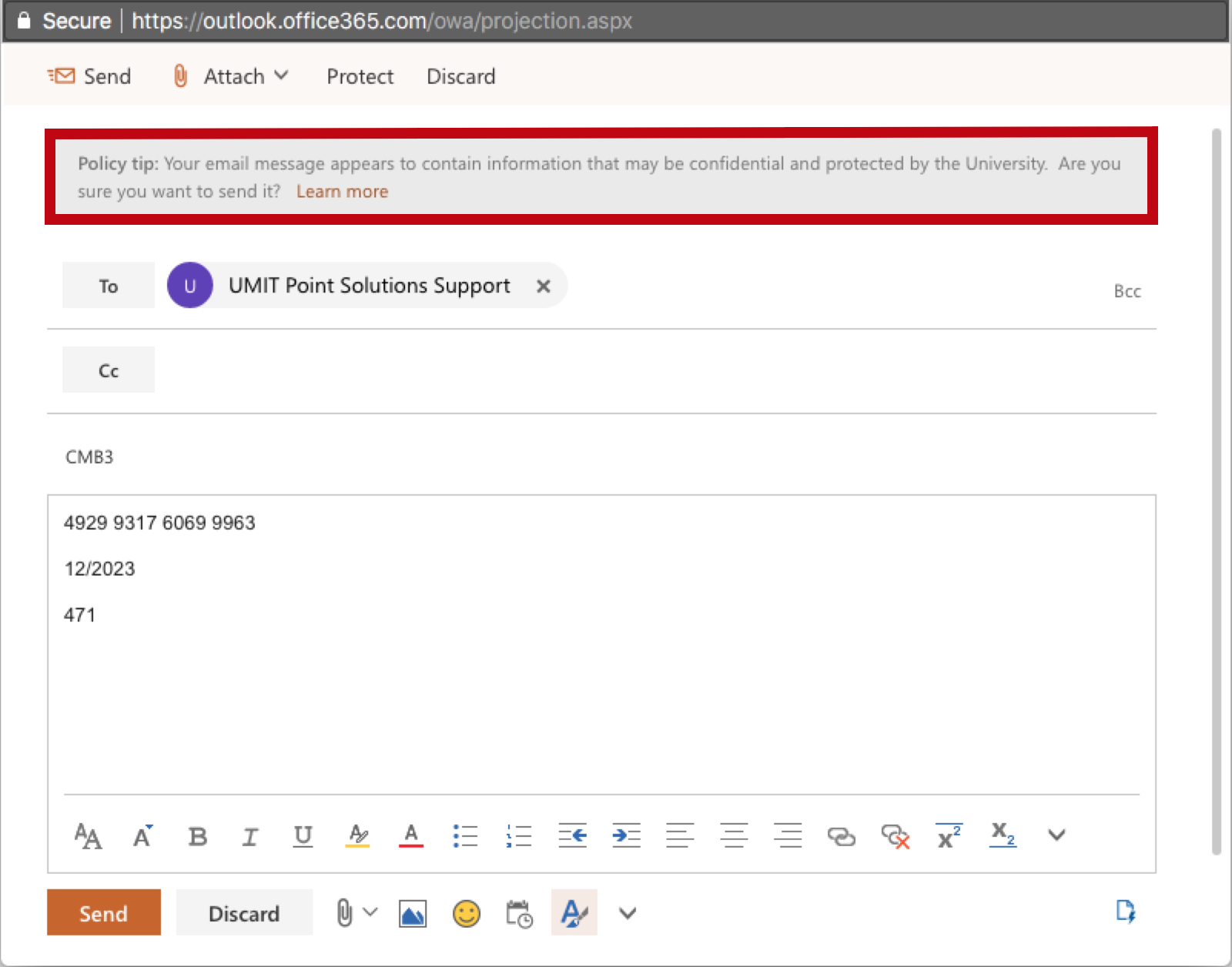 How to send secure email using outlook 2020